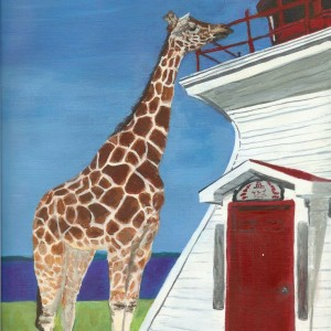 Giraffe & Lighthouse