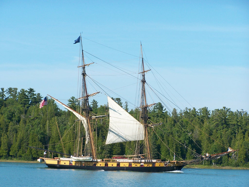 Come Tour The Welcome, the First Armed Sloop on the Great Lakes